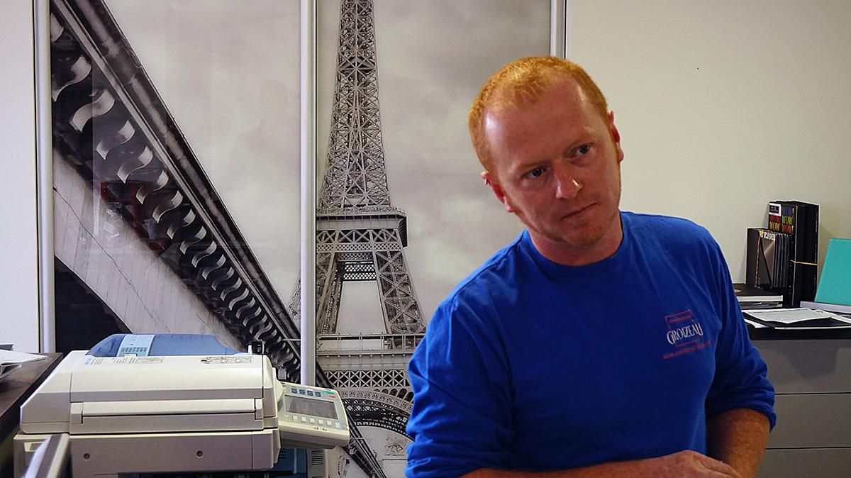 Artisan ebeniste Julien Groizeau