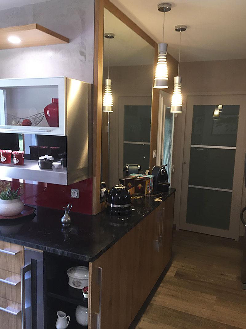 cuisine et couloir réaménagés