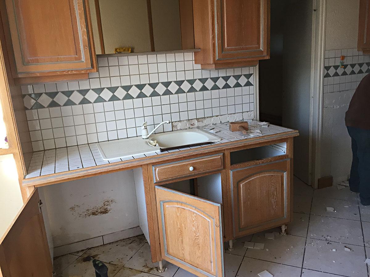 ancienne cuisine avant travaux