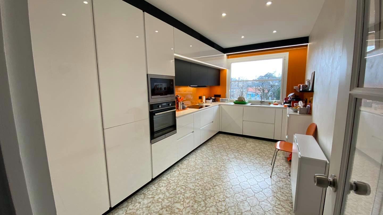 Cuisine aménagée dans un appartement à Nantes