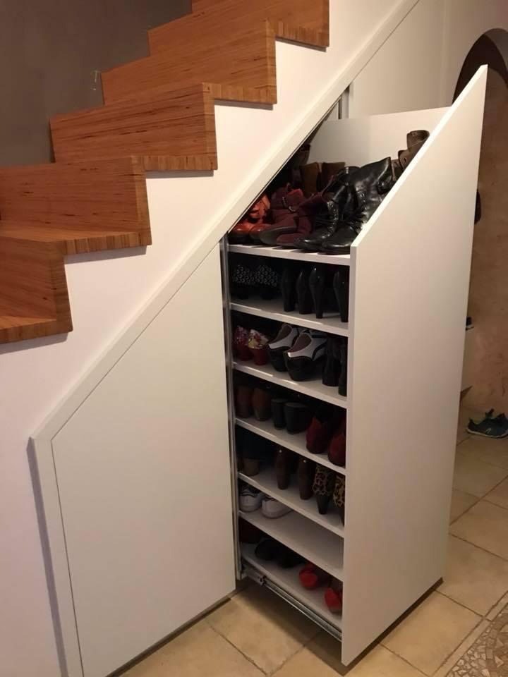 deuxieme placards sous escalier