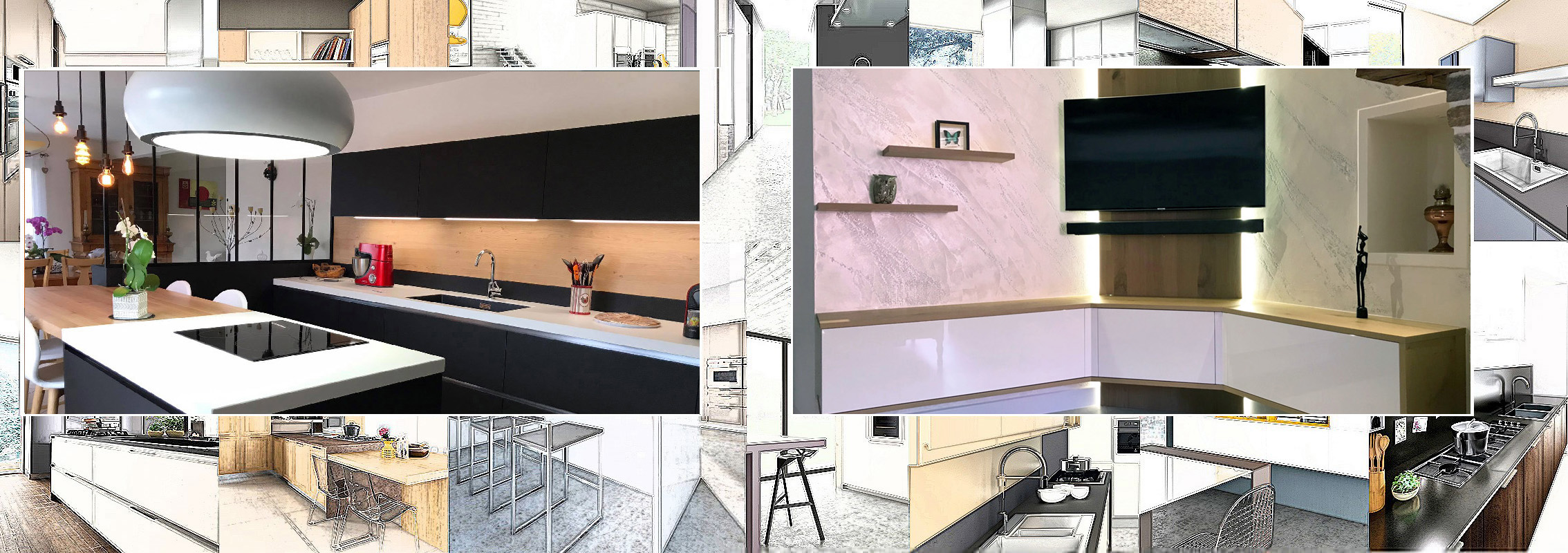 Cuisine Ancenis et meuble tv ancenis