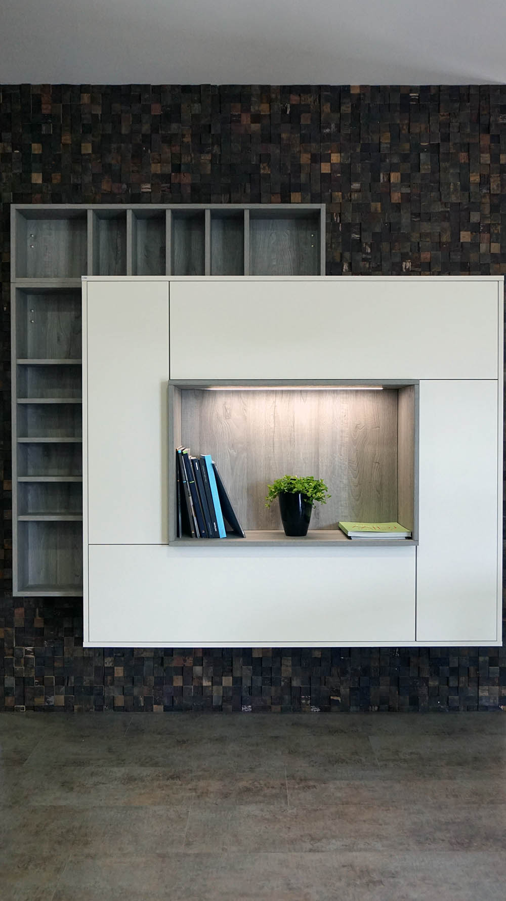 Meuble Salon Avec Design : Meuble de salon sur mesure