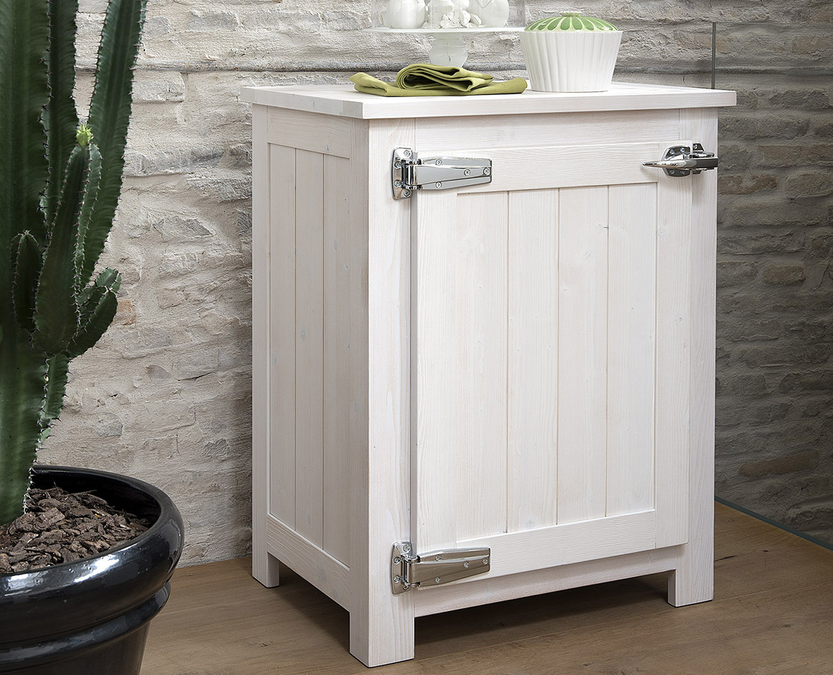 Buffet element easy 1 porte en blanc