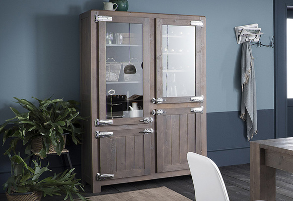 Armoire vitrine Altacorte easy