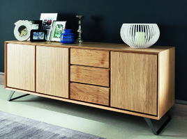 buffet design 4 portes et 4 tiroirs. Black Bedroom Furniture Sets. Home Design Ideas