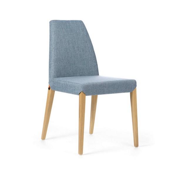 Chaise de qualité modèle Sweet couleur grise