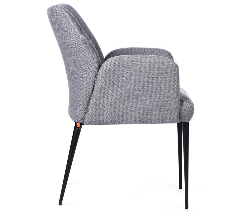 Chaise haut de gamme confort Modèle Mobitec Enora grise
