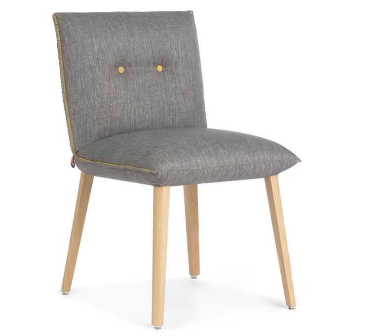 Modele chaise confort SODA haut de gamme; vue 3/4