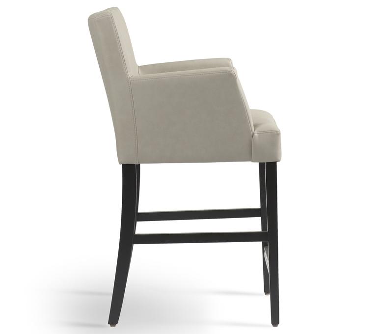Chaise haute avec accoudoirs modèle Shelly