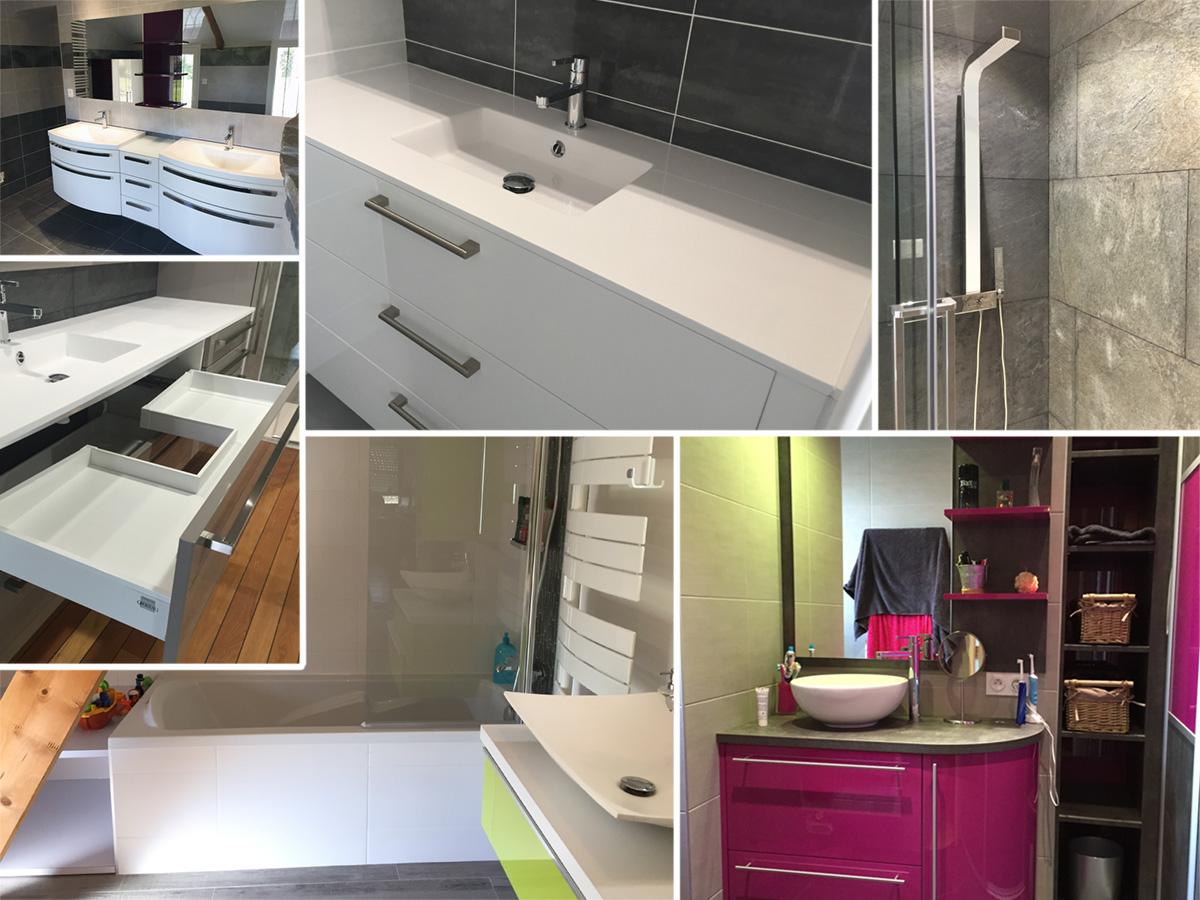 Salon De Bain Moderne refaire ou réaménager une salle de bain