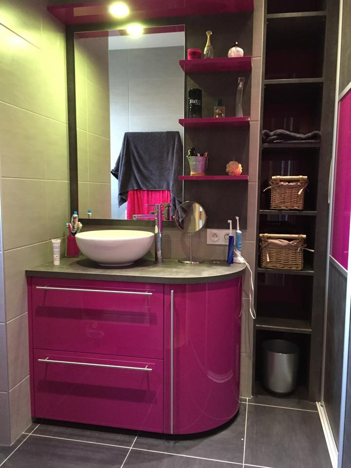 meuble salle de bain violet meuble vasque mr bricolage with meuble salle de bain violet meuble. Black Bedroom Furniture Sets. Home Design Ideas