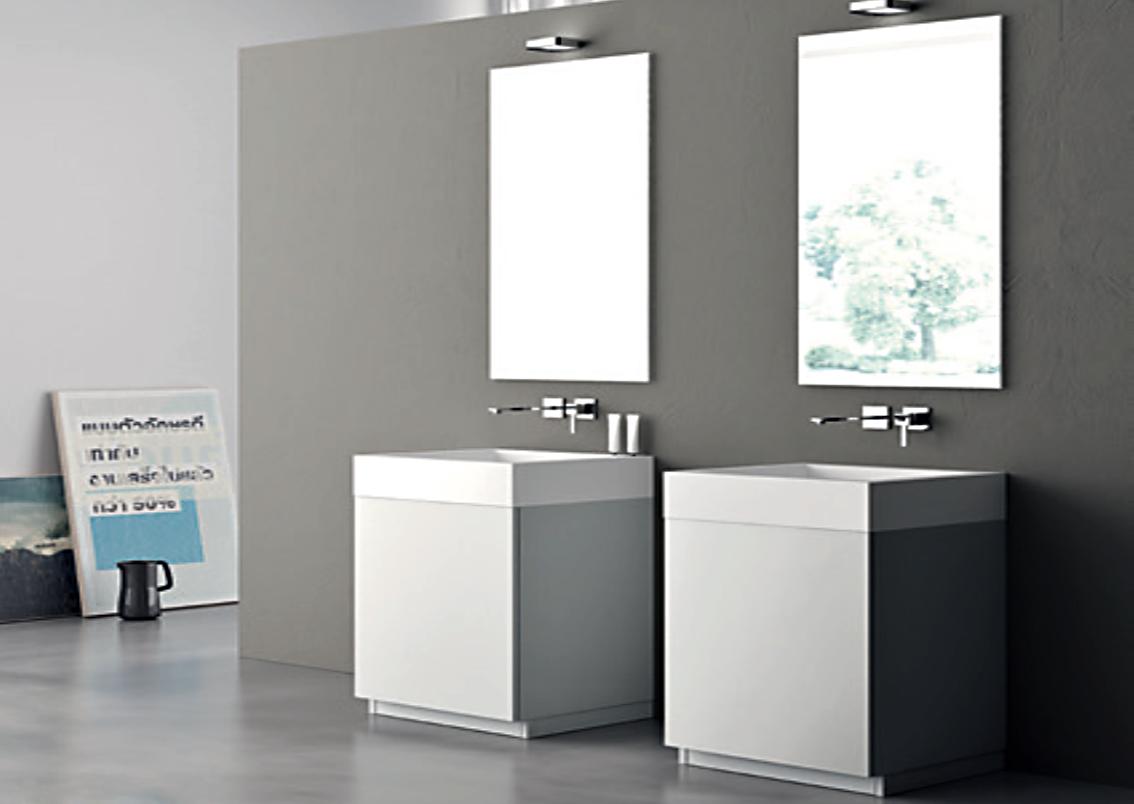 Salle de bain deux lavabos