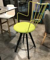 chaise design verte